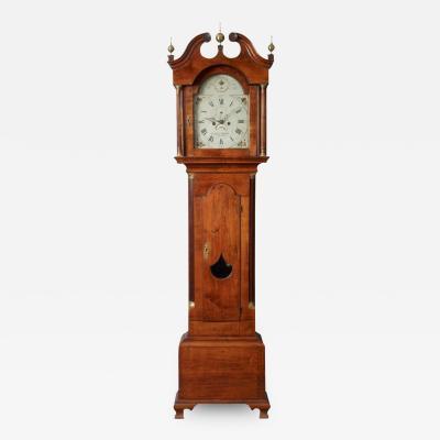 Aaron Willard Chippendale Tall Case Clock c 1775 1785