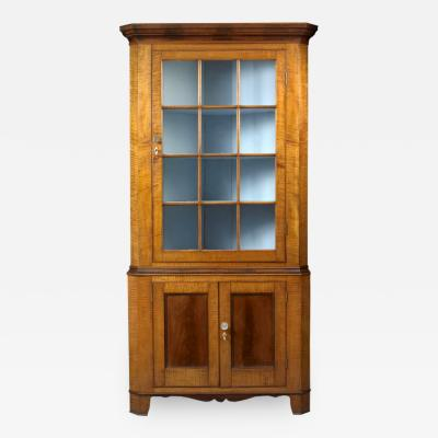 Federal Corner Cupboard c 1820