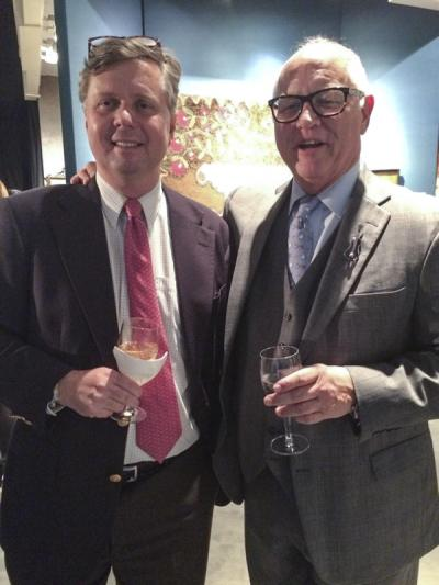 Robert Leath (MESDA) and Ken Farmer (Antiques Advisor/Appraisals)
