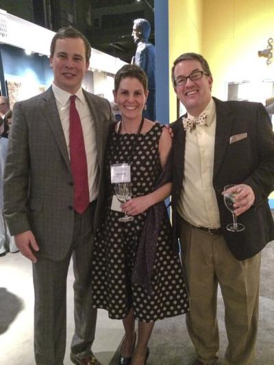 Matthew Thurlow (Decorative Arts Trust), Suzanne Hood (Colonial Williamsburg), and Andrew Richmond (appraiser)