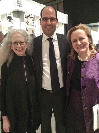 Erica Hirschler, Dennis Carr, Elliot Bostwick Davis; curators, MFA, Boston.