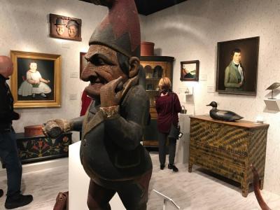 David A. Schorsch-Eileen S. Smiles American Antiques; Booth 24