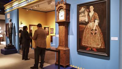 The 2017 loan exhibition, The Abby Aldrich Rockefeller Folk Art Museum, part of the Art Museums of Colonial Williamsburg.