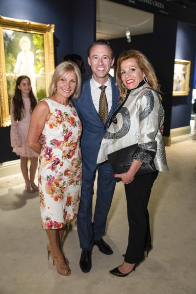 Trish Savides, Scott Diament, Lisa Marie Browne