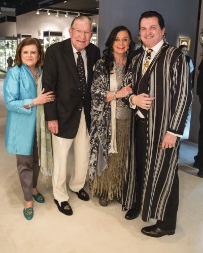 Mary Donahue, Steve Horn, Linda Horn, Chris Horn