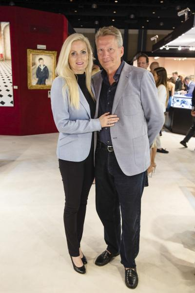 Helene and Brad Jefferson