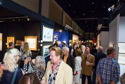 Opening night of the 2017 Palm Beach Jewelry, Art & Antique Show