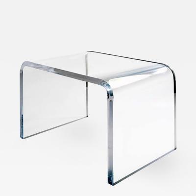 Craig Van Den Brulle The Extrados Lucite Desk Table by Craig Van Den Brulle