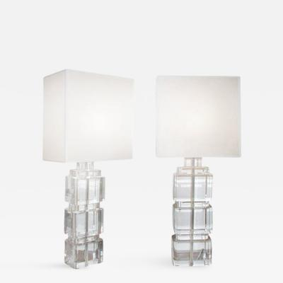 Craig Van Den Brulle Paramount Lamp in Lucite