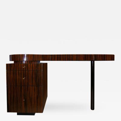 Craig Van Den Brulle Macassar Ebony Desk