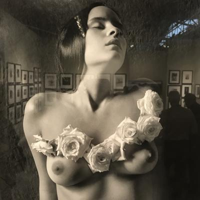 """Eternal Dress/ Vestido eterno"" by Flor Garduño offered by Throckmorton Fine Art"