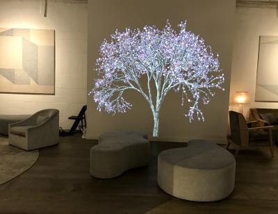 VIP Lounge designed by Huniford Design Studio