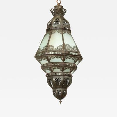 Moroccan Milky Glass Pendant