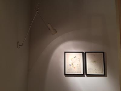 Gino Sarfatti lighting and drawings, presented by Casati Gallery
