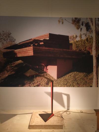John Lautner floor lamp, presented by Eric Philippe