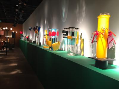 Ettore Sottsass glass, presented by Friedman Benda