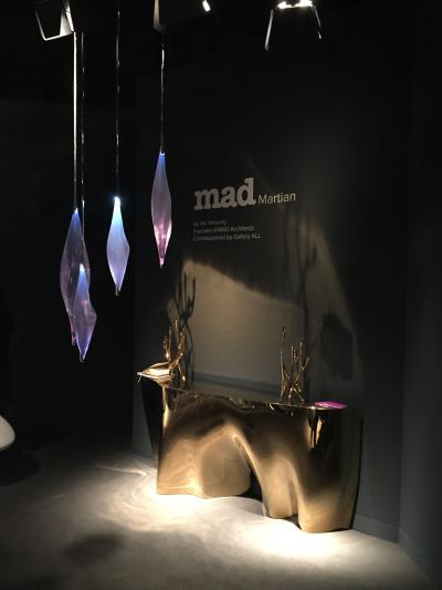 MAD Martian console table by Ma Yansong, presented by Gallery ALL