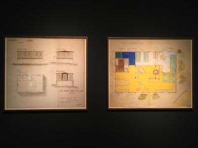Jean Prouve Demountable House designs, 1944