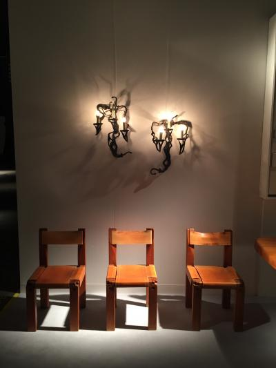 Pierre Chapo chairs, presented by Magen H Gallery