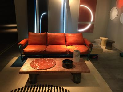 Tomas Alonso table and Sabine Marcelis lights, presented by Victor Hunt