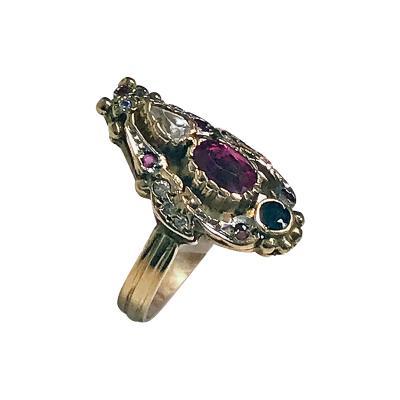 14K Art Nouveau Ring