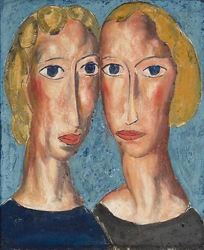 Alfred Henry Maurer Two Heads c 1925 28