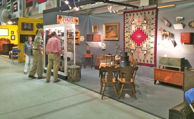 Steve Smoot Antiques and Navaho Textiles, Booth 9