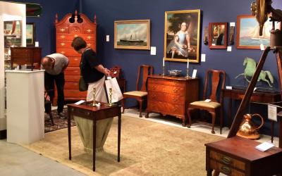 The Hanebergs Antiques, Booth 17