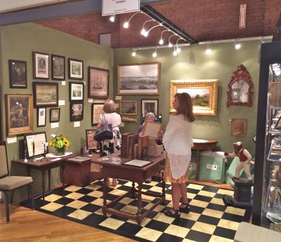 Resser-Thorner Antiques, Booth 8