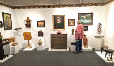 Frank & Barbara Pollack, American Antiques & Art, Booth 37