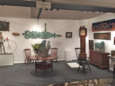 Michael Whittemore Antiques & Folk Art, Booth 38