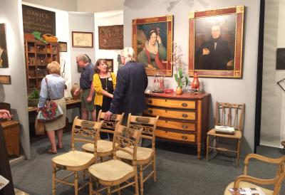 Stephen-Douglas Antiques, Booth 39