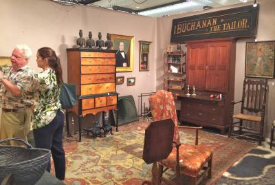 Tucker Frey Antiques, Booth 44