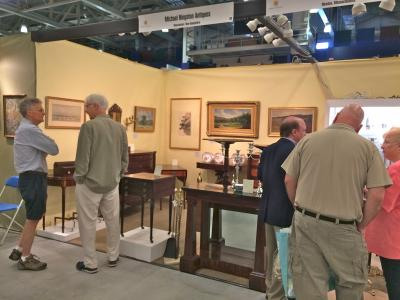 Michael Higston Antiques  & Christopher Settle, Booth 49