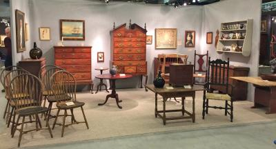 Peter Eaton Antiques, Booth 30