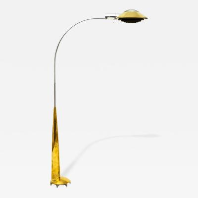 Cedric Hartman Cedric Hartman 91 CO Precision Floor Lamp in Brass