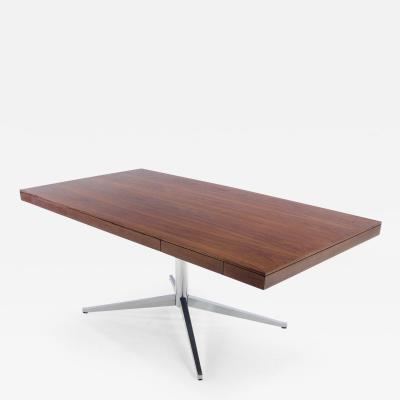 Florence Knoll Mid Century Modern Executive Partners Desk Designed by Florence Knoll