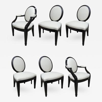 John Hutton John Hutton for Donghia Set of Six Chairs