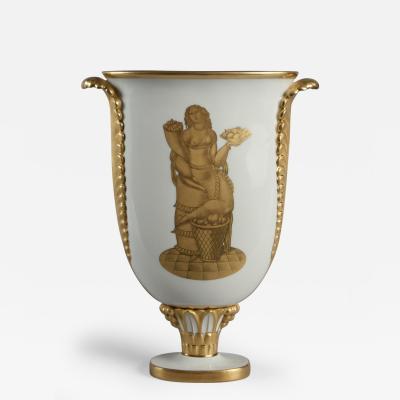 Gio Ponti Vase by Gio Ponti 1891 1979 Produced by Richard Ginori Italy 1928