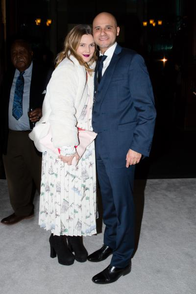 Drew Barrymore, Daniel Diaz. Photo: Max Lakner. Courtesy Sharp Communications and the Winter Antiques Show.