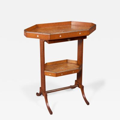 A Neoclassical Vide Poche Table in the Jacob Russe Taste Russian ca 1800