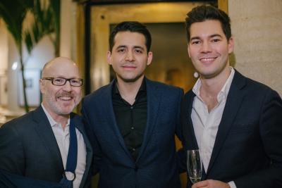 Guy Regal, Andres Peres-Garzon, Austin Mill