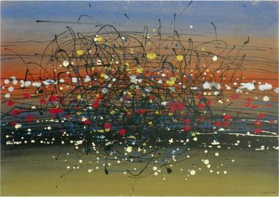 Tancredi Abstract Painting Tancredi Original Work Circa 1955