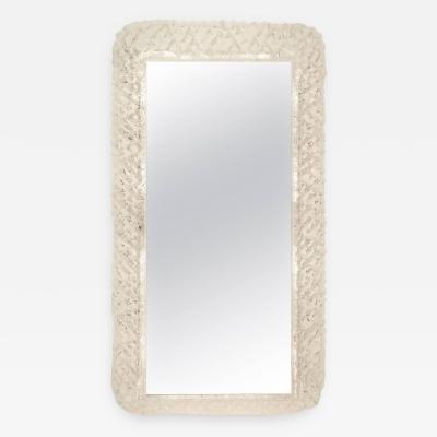 Hillebrand Illuminated Lucite Vanity Mirror by Hillebrand