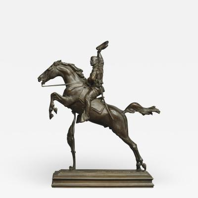 Frederick W MacMonnies Theodore Roosevelt on Horseback The Rough Rider