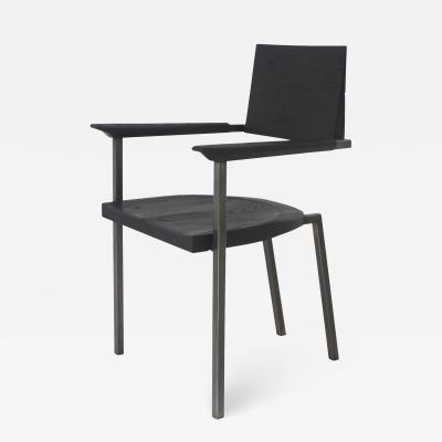 Stefan Rurak Studio Steel Chair Charred
