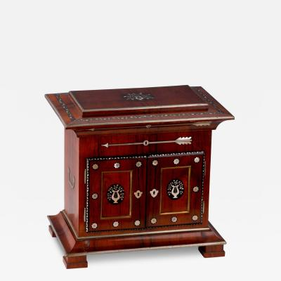 A Charles X Inlaid Rosewood Necessaire de Voyage French ca 1830