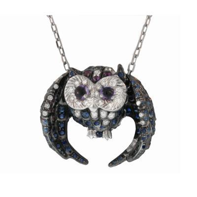 Boucheron Boucheron Paris Owl Chouette Pendant