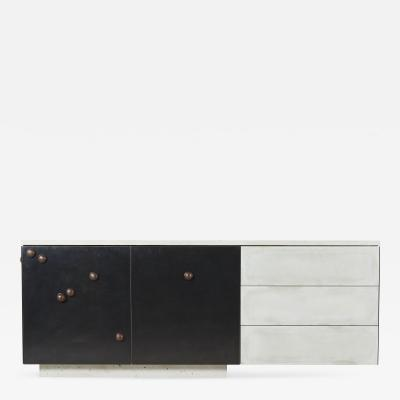 Stefan Rurak Studio C 210v2 with Tactile Walnut Cast Concrete and Blackened Steel