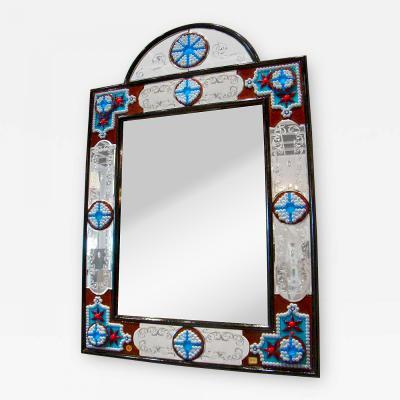 Fratelli Barbini Millefiore Venetian Mirror